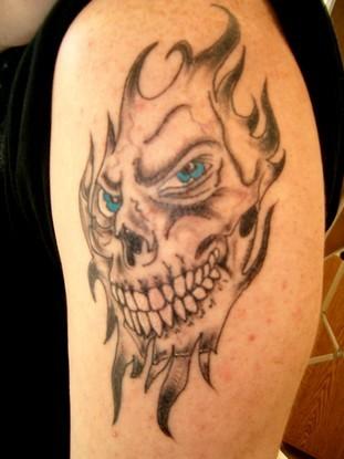 Skull Tattoo02