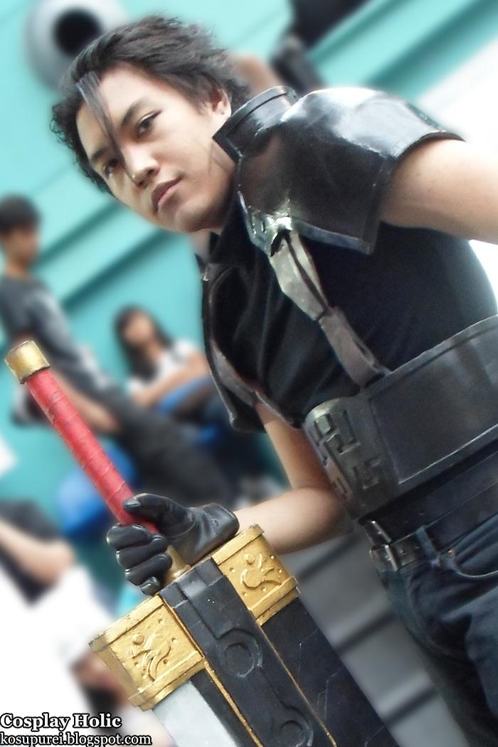 Zack Fair cosplay