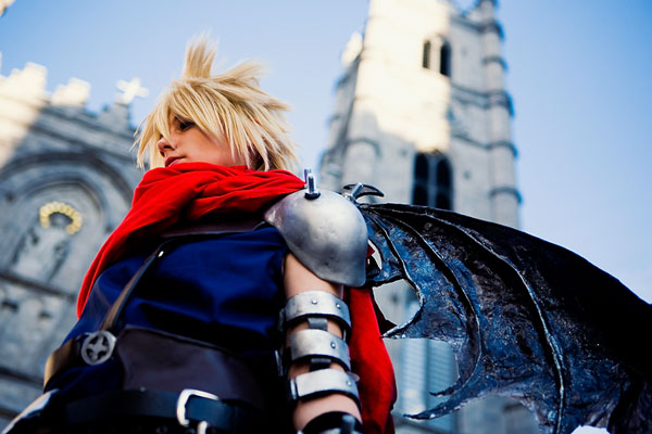 Kingdom Hearts Cloud Strife Cosplay 02