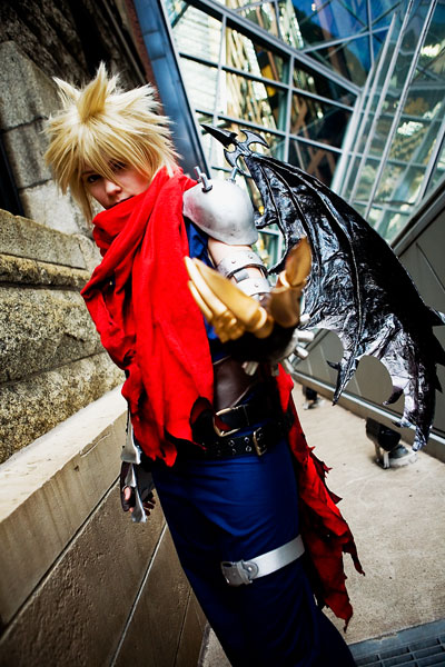 Kingdom Hearts Cloud Strife Cosplay 03