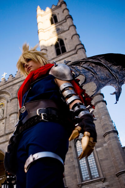 Kingdom Hearts Cloud Strife Cosplay 04
