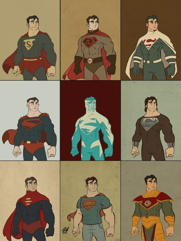 Superman Fashion