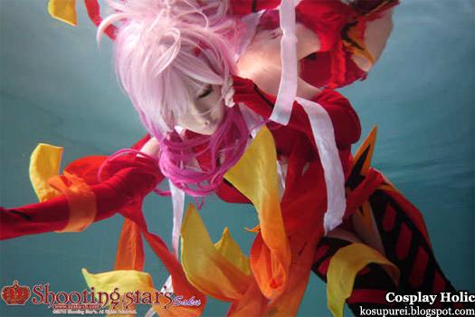 guilty crown cosplay - yuzuriha inori by shooting star's