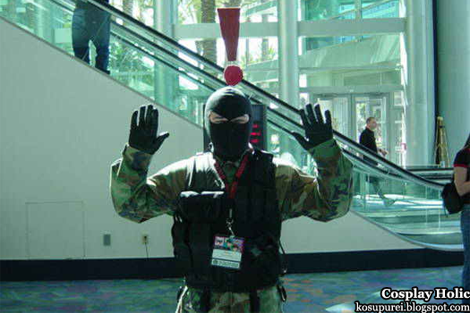 metal gear cosplay