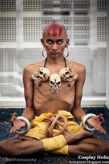 street fighter ii: the world warrior cosplay - dhalsim