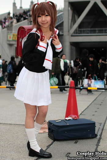 card captor sakura cosplay - kinomoto sakura 8