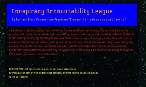 Conspiracy Accountability League