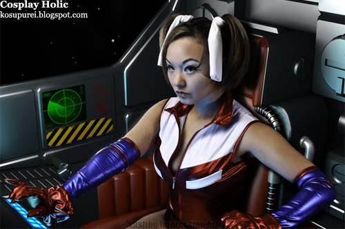 mobile suit gundam 0079 card builder cosplay - reiko holinger by ani-mia