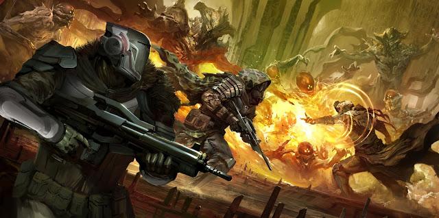 Titan, Hunter, and Warlock.