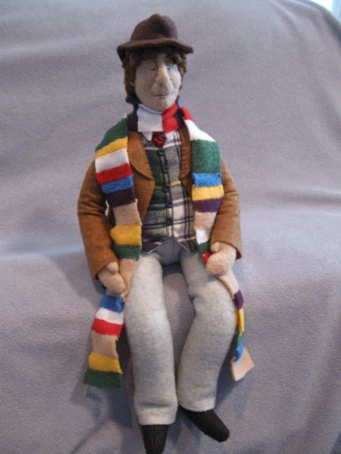 Fourth Doctor Plush Doll
