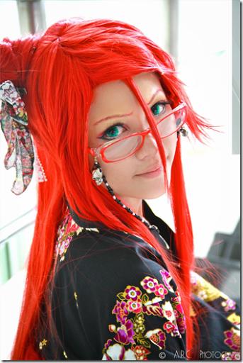 kuroshitsuji cosplay - grell sutcliff 2 by