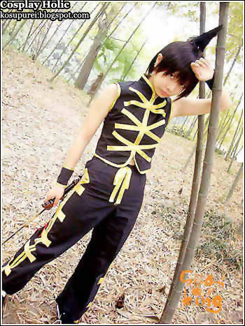 shaman king cosplay - tao ren