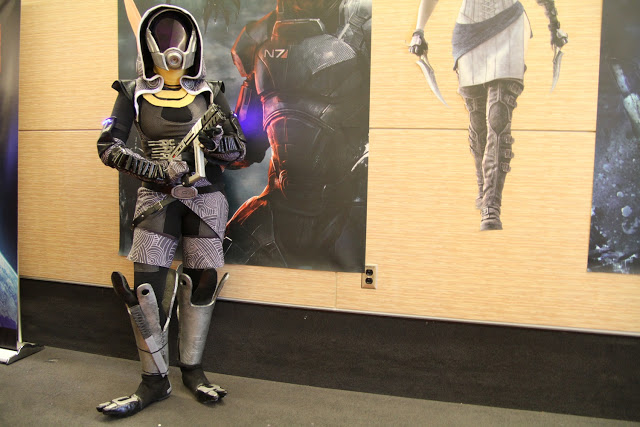 tali cosplay mass effect
