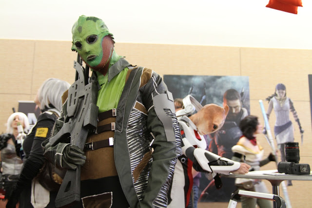 thane from mass effect cosplay